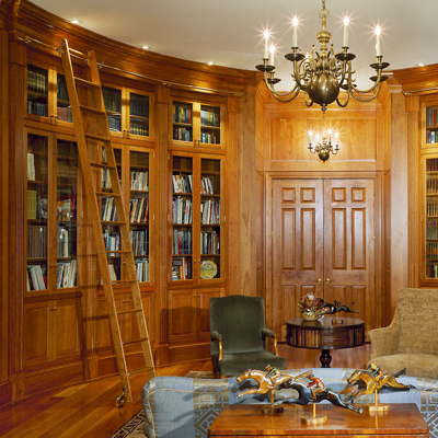 Leininger Cabinet & Woodworking - Library